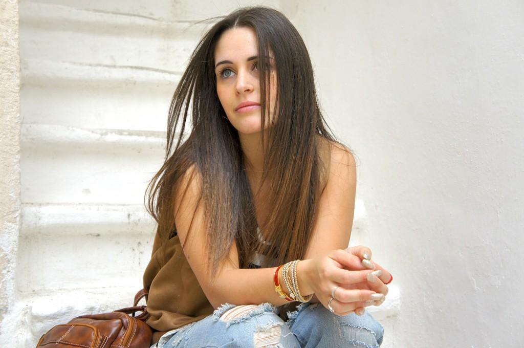 Boyfriend jeans Zara strappato Inside Me