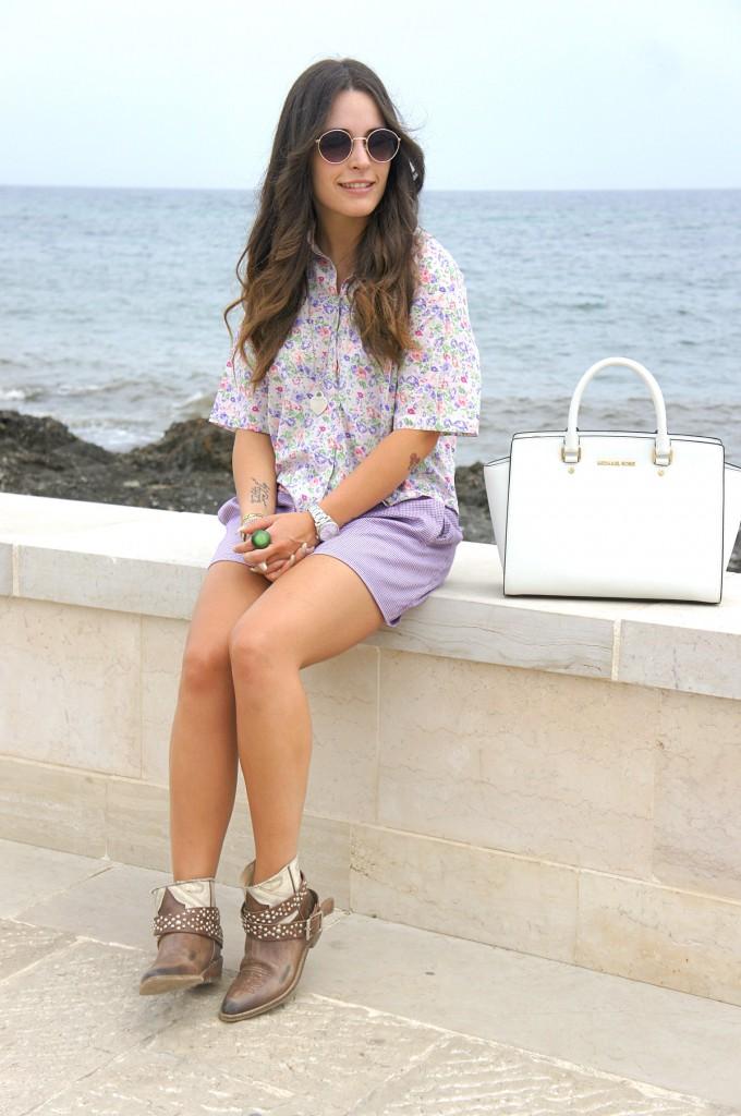Look viola e lilla