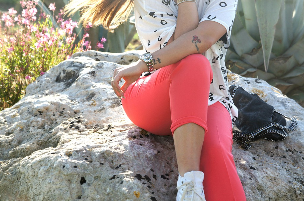 Pantalone corallo