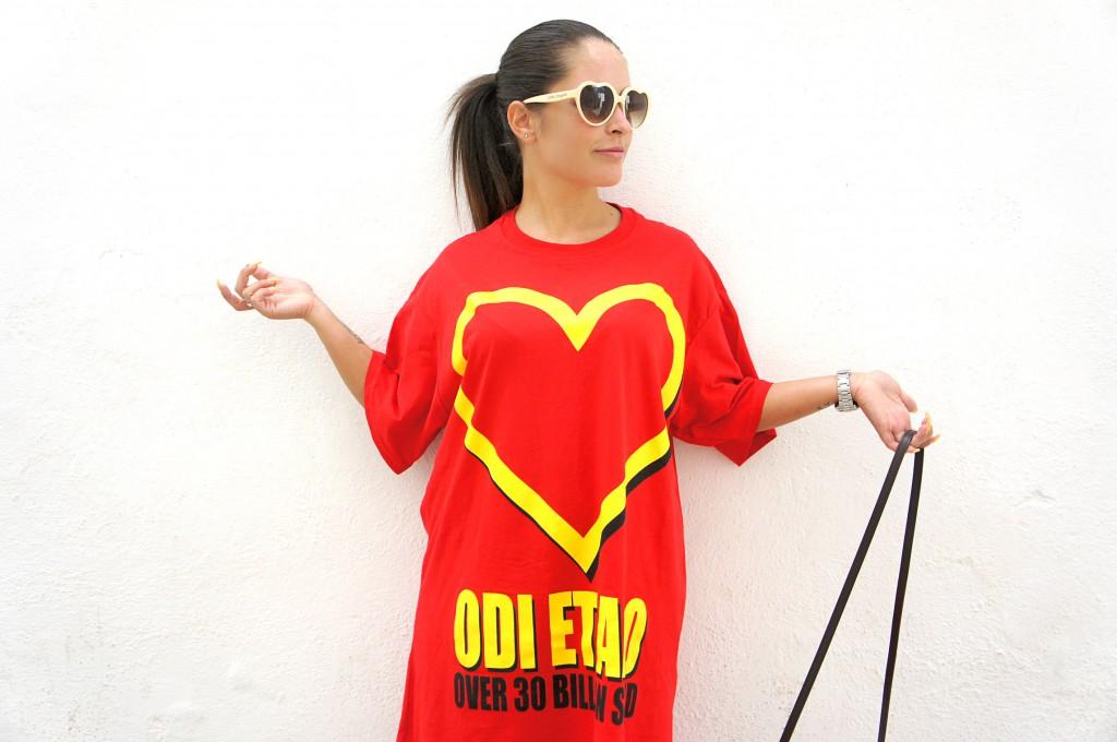 T-shirt Odi et Amo Mc Donald
