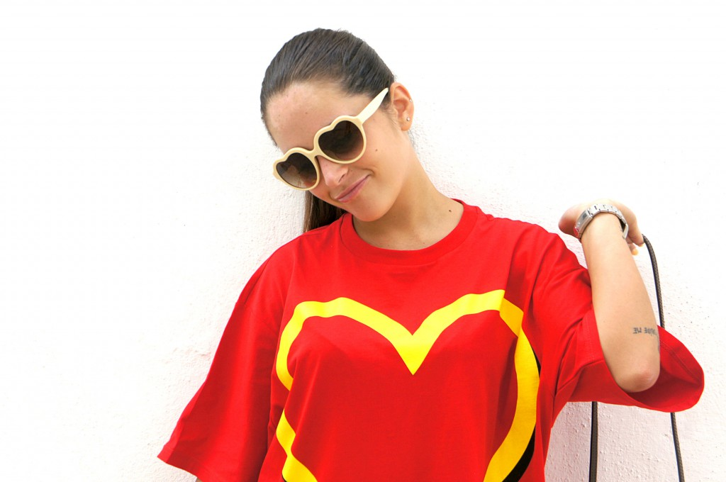 T-shirt Moschino Mc Donald