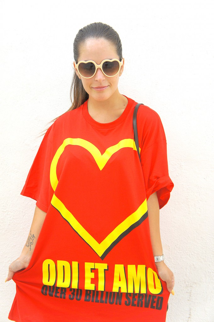 T-shirt Odi et Amo Mc Donald