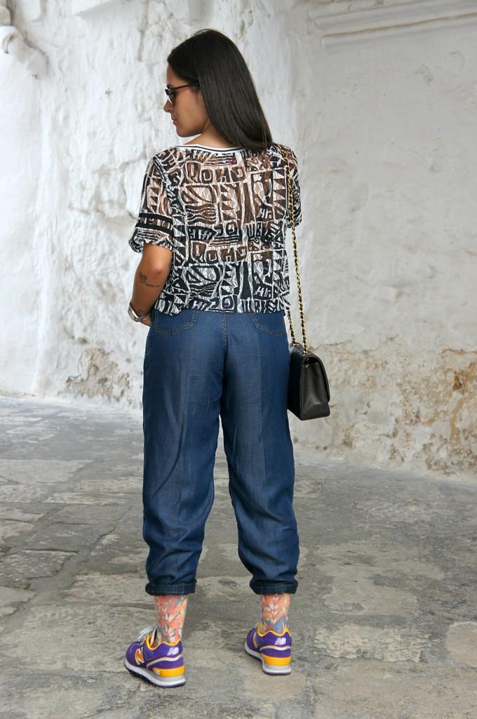 jeans alto in vita