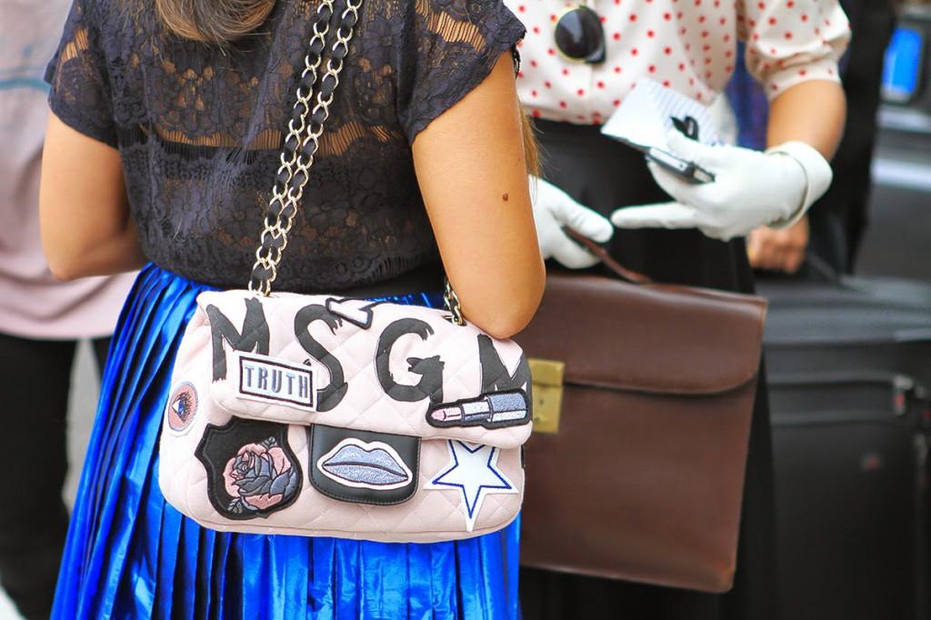 borsa MSGM milano fashion week