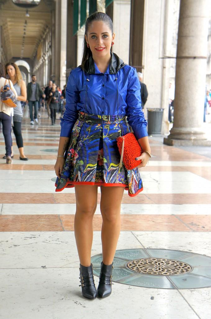 look per la milano fashion week