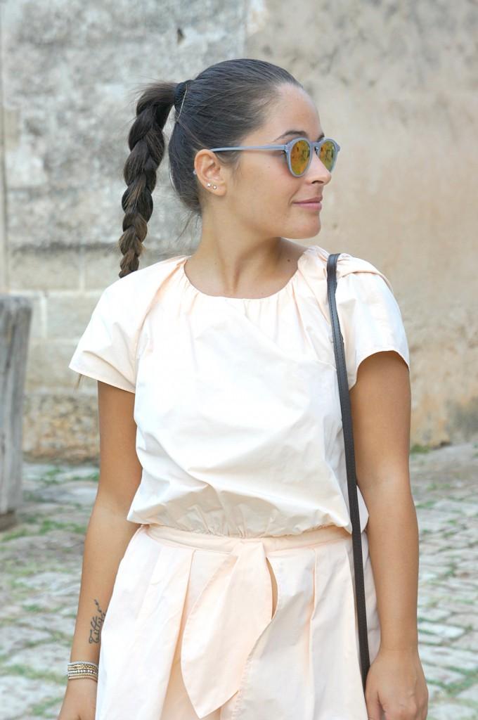 occhiali da sole tondi
