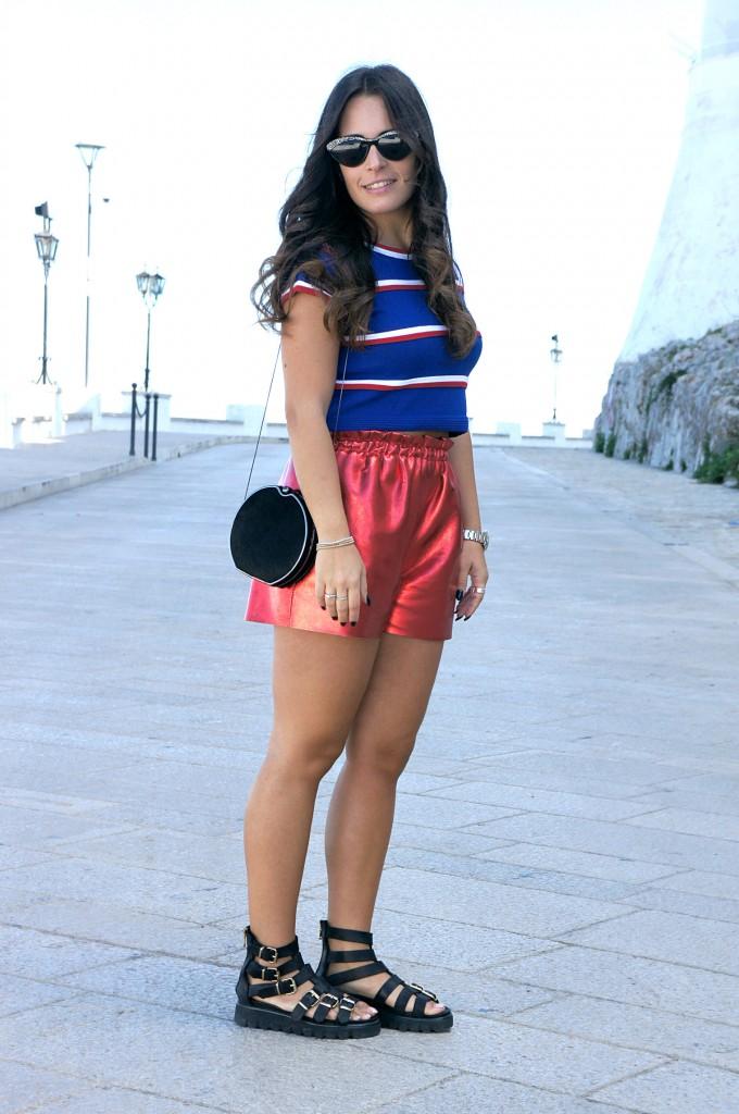 shorts e sandali
