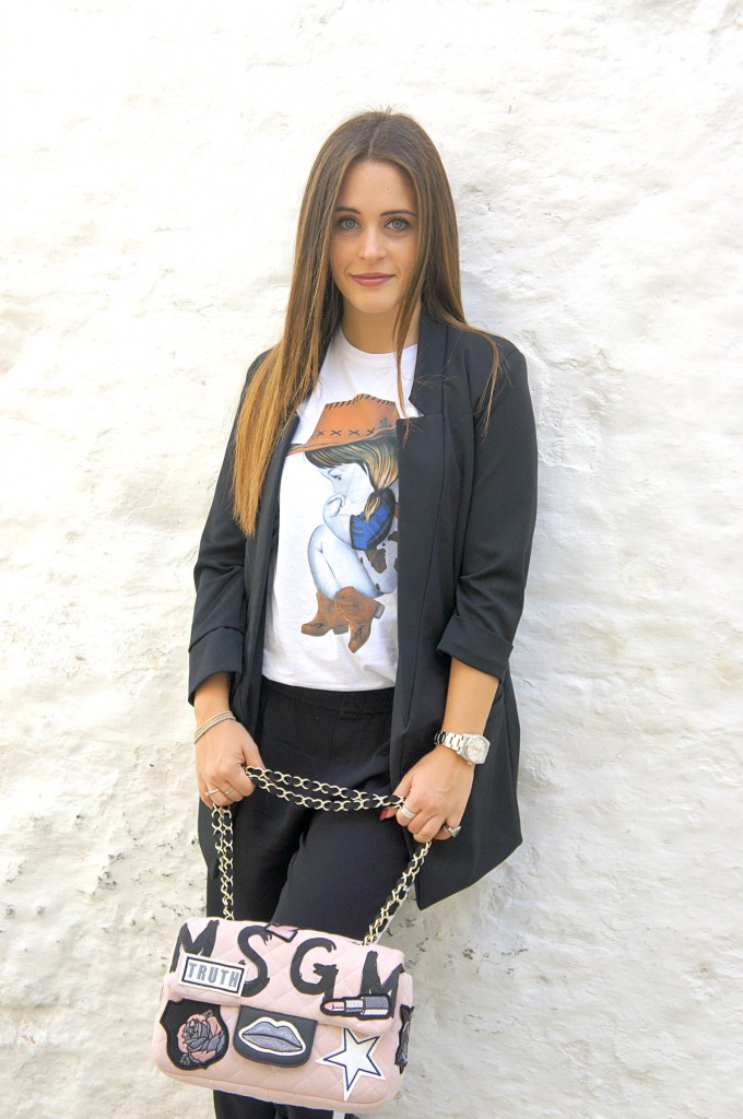 Black Bomber Jacket Outfit