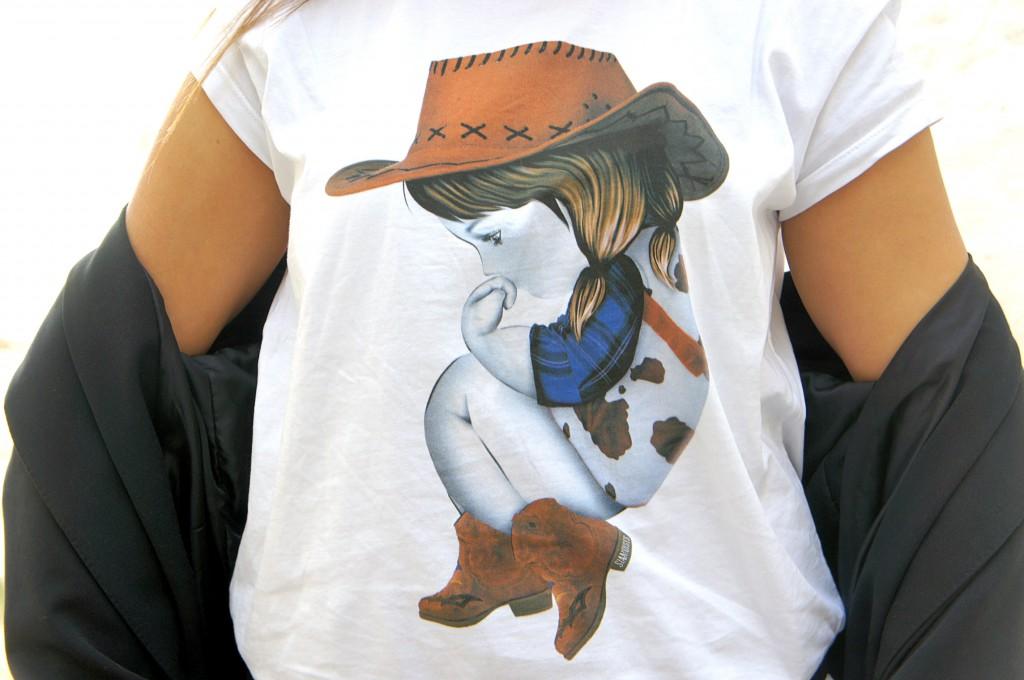 t-shirt siamoises