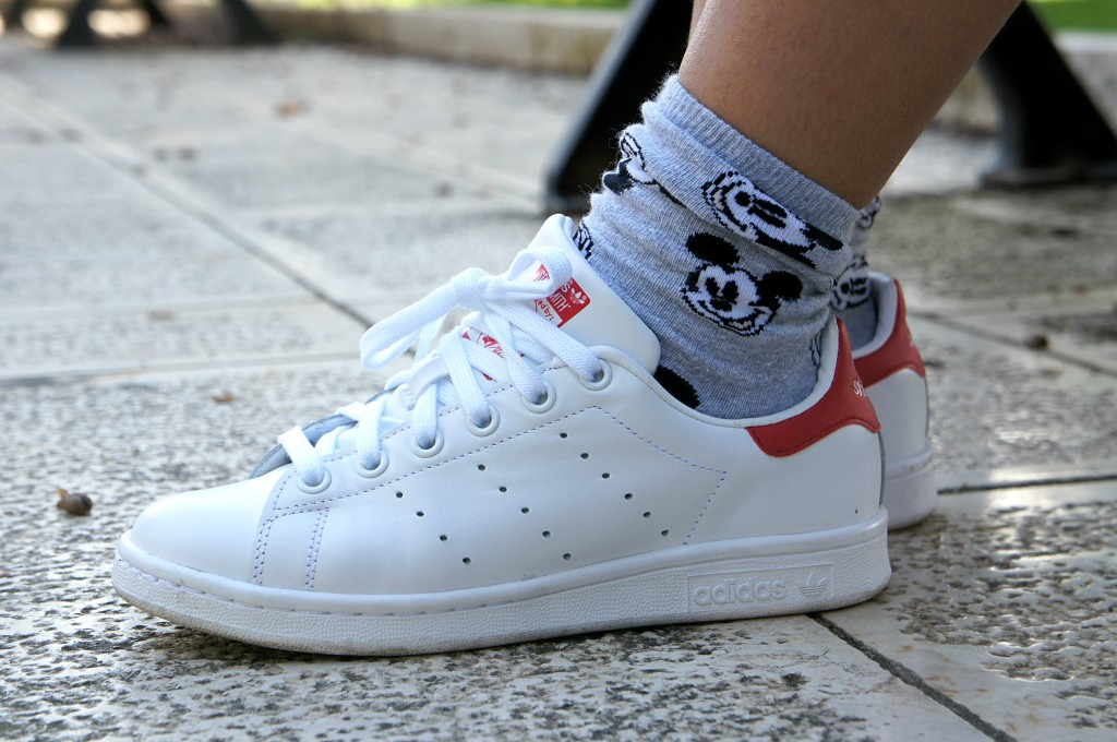 adidas stan smith donna bianche e oro