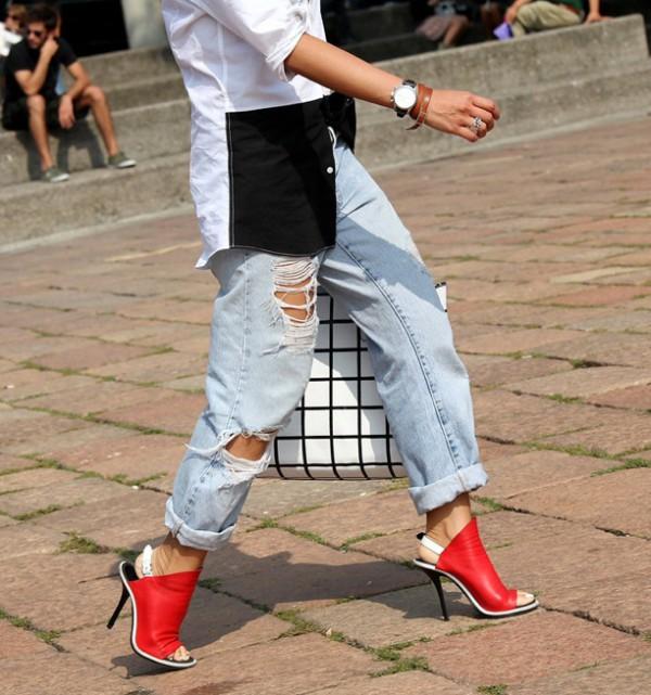 boyfriend jeans street style