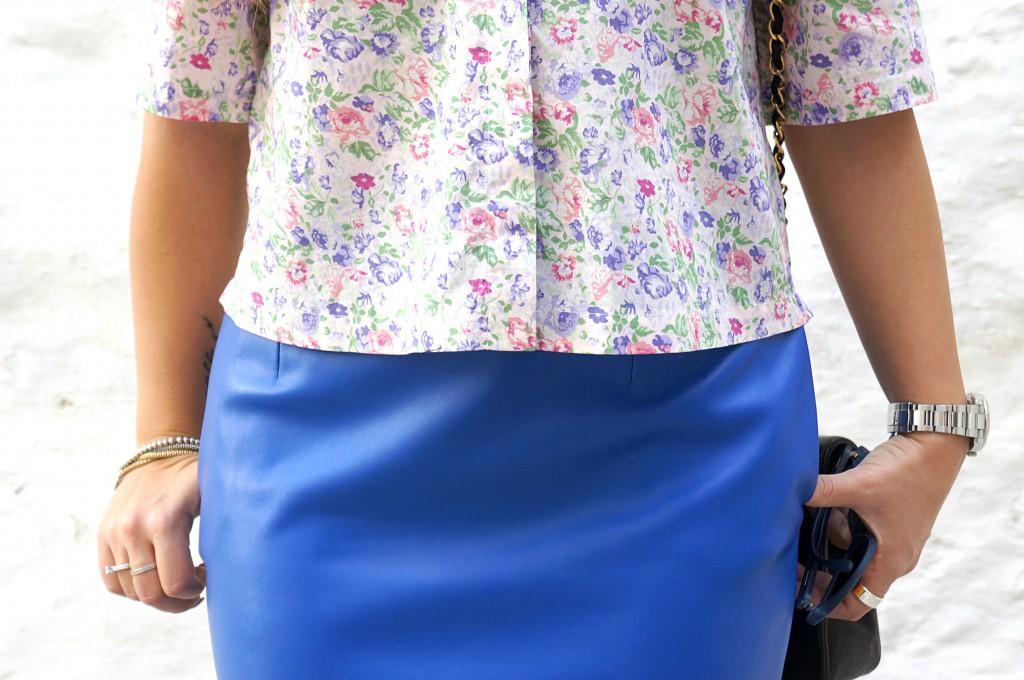 camicia fiorata
