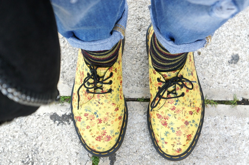 dr.martens fiorate