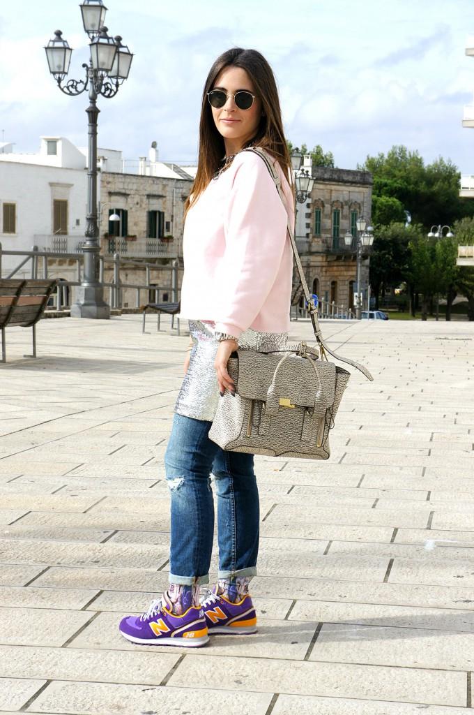 jeans e vestito