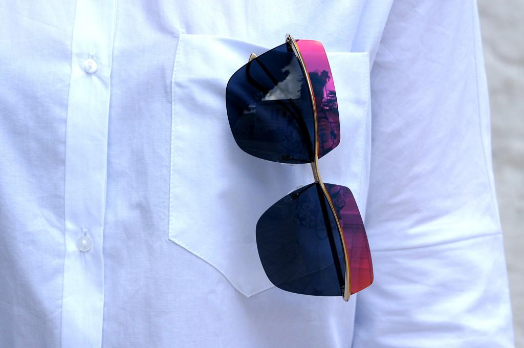 occhiali dior metallic