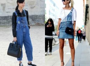 Salopette di jeans e non solo: ecco qualche idea per essere trendy