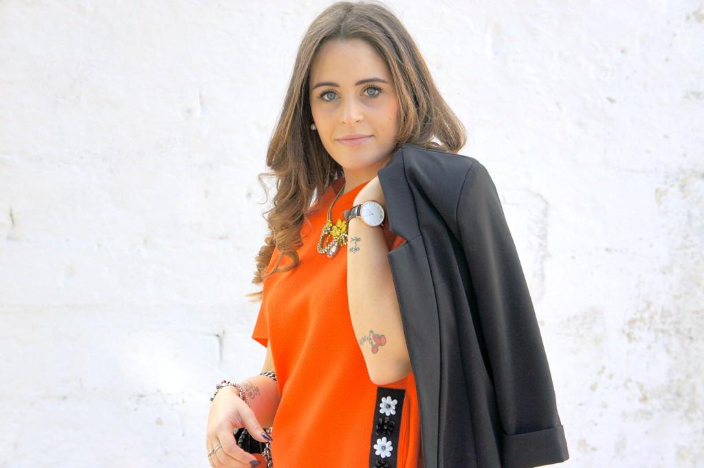 vestito colorato