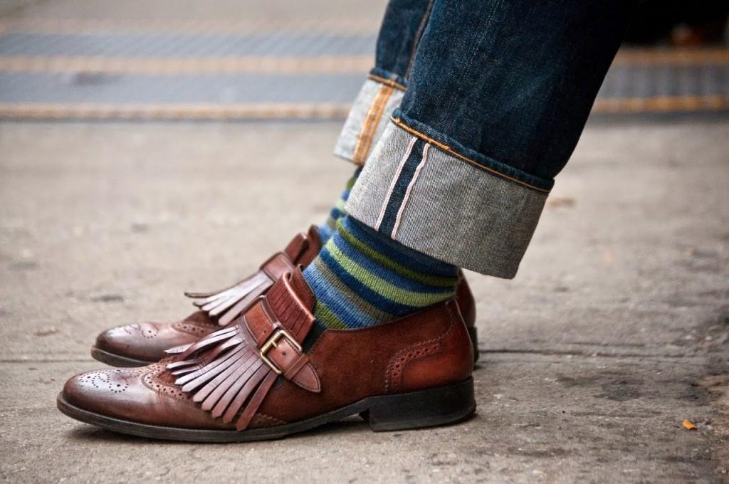 calzini e stringate