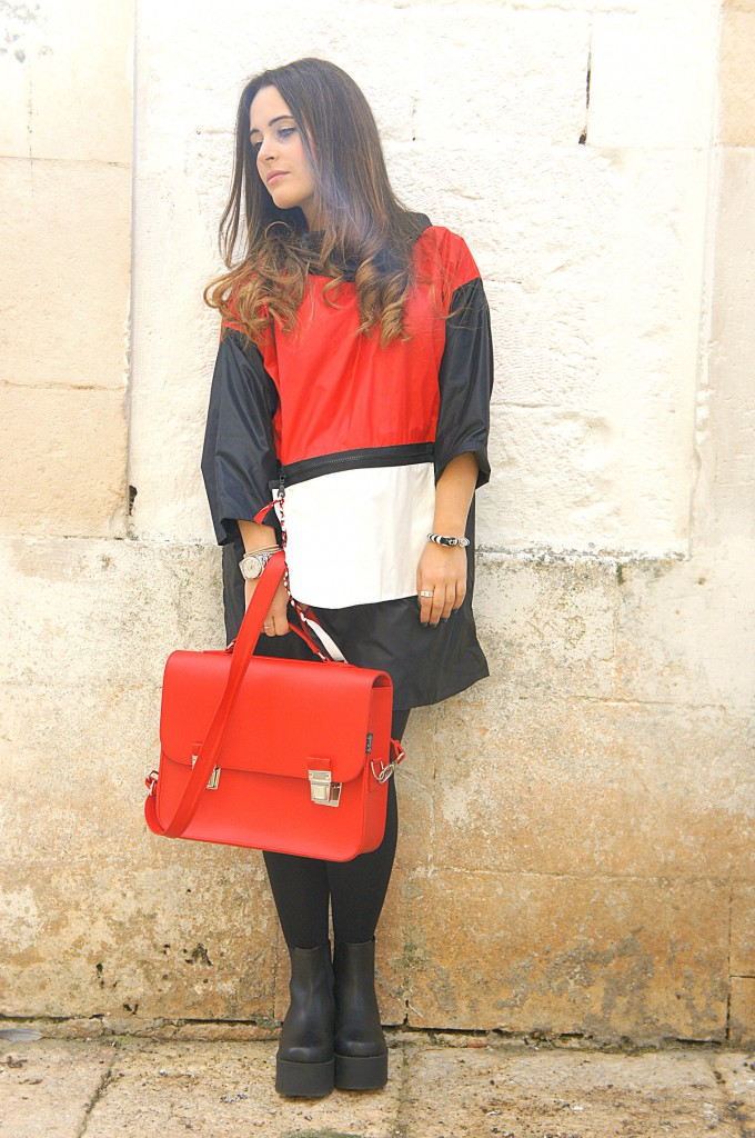 kway rosso
