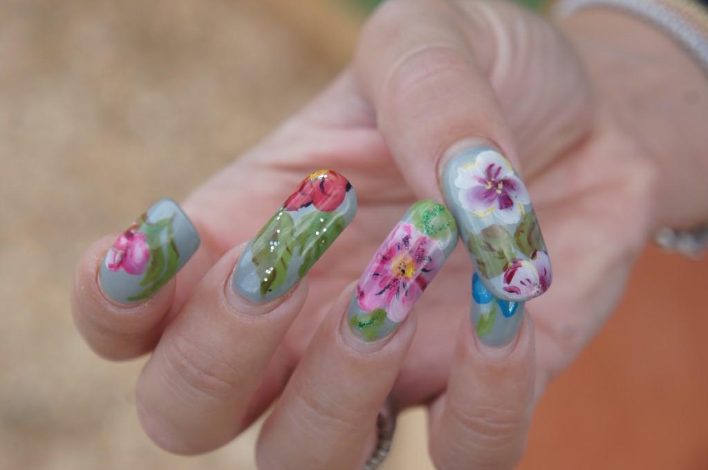 unghie micropittura