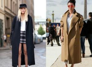Cappotto oversize: 25 idee per poter sceglierlo