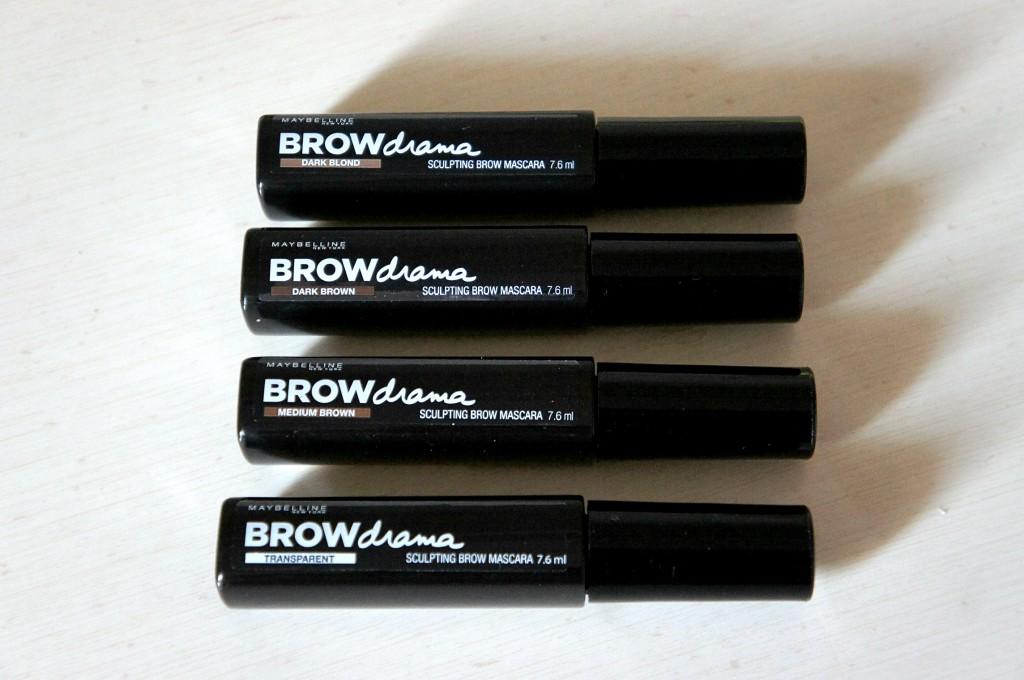 mascara maybelline brow drama