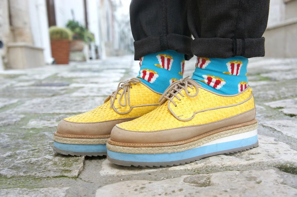 scarpe con para