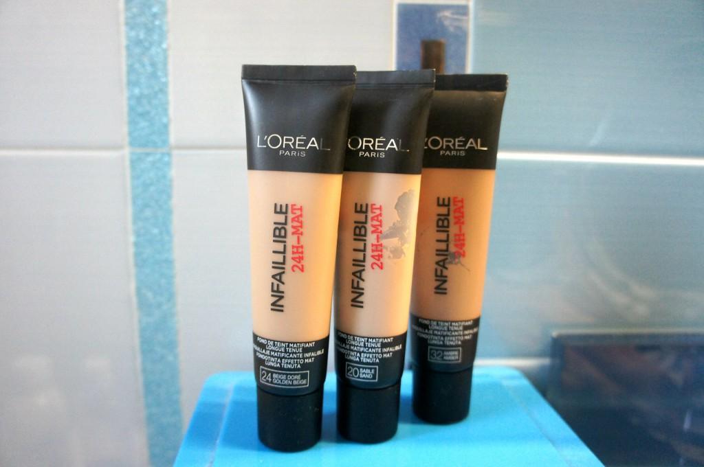 Fondotinta Infaillible L'Oréal