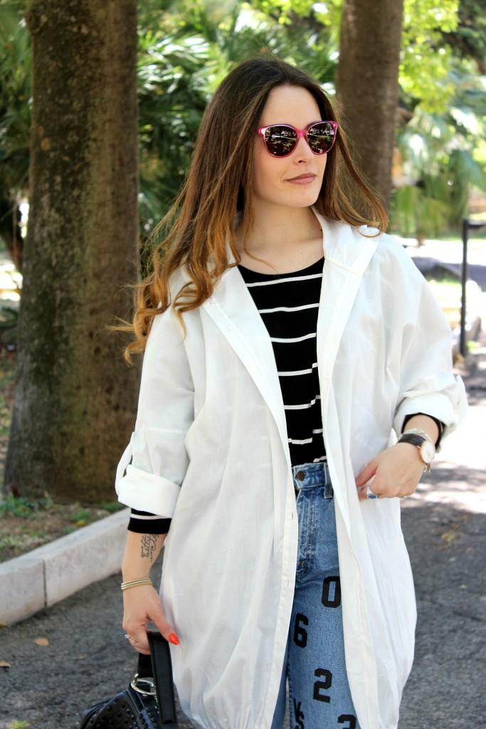 giacca bianca