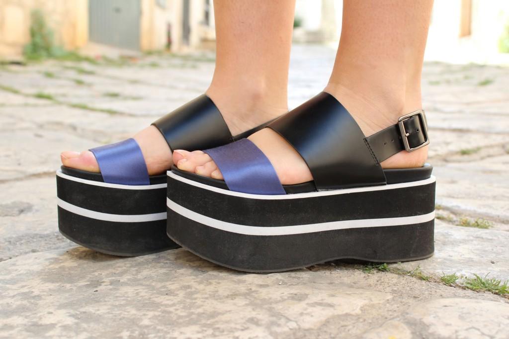 sandali platform