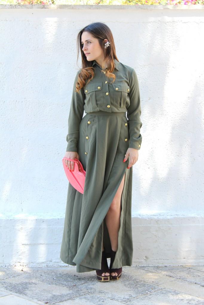 vestito lungo imperial