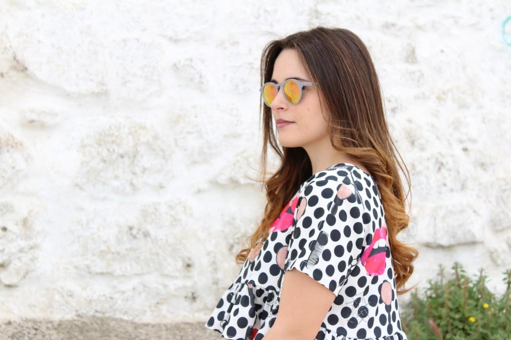 occhiali da sole specchiati
