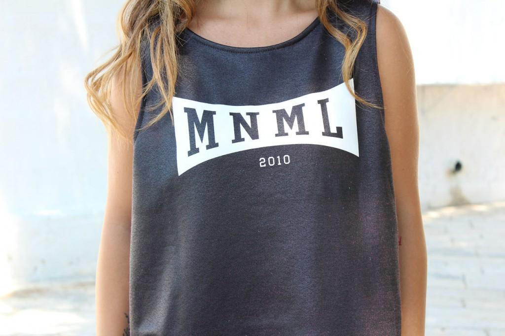 vestito minimal