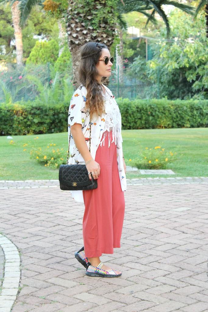 culottes colorati