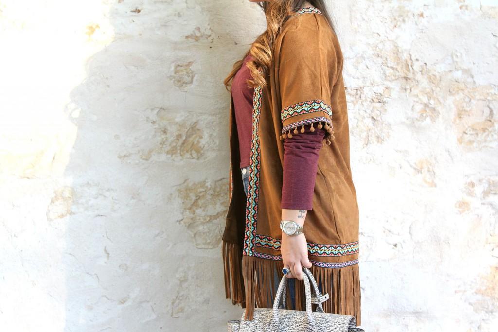 giacca frange