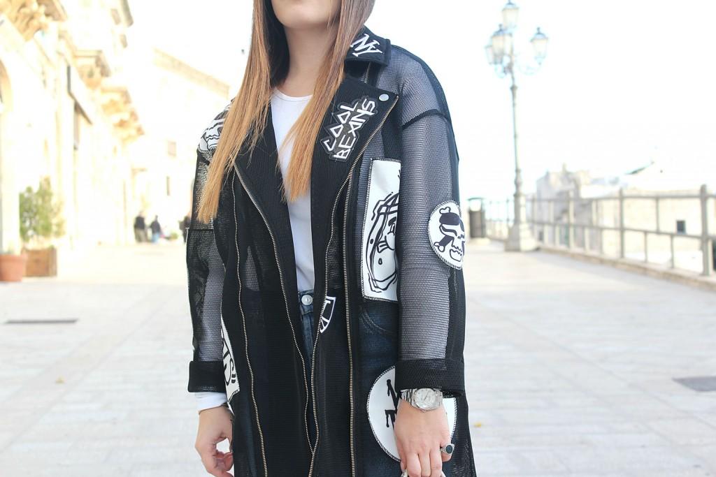 giacca nera