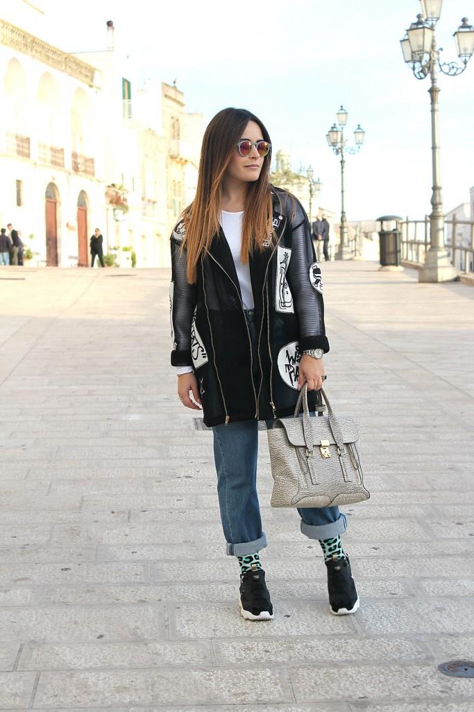 scarpe reebok indossate