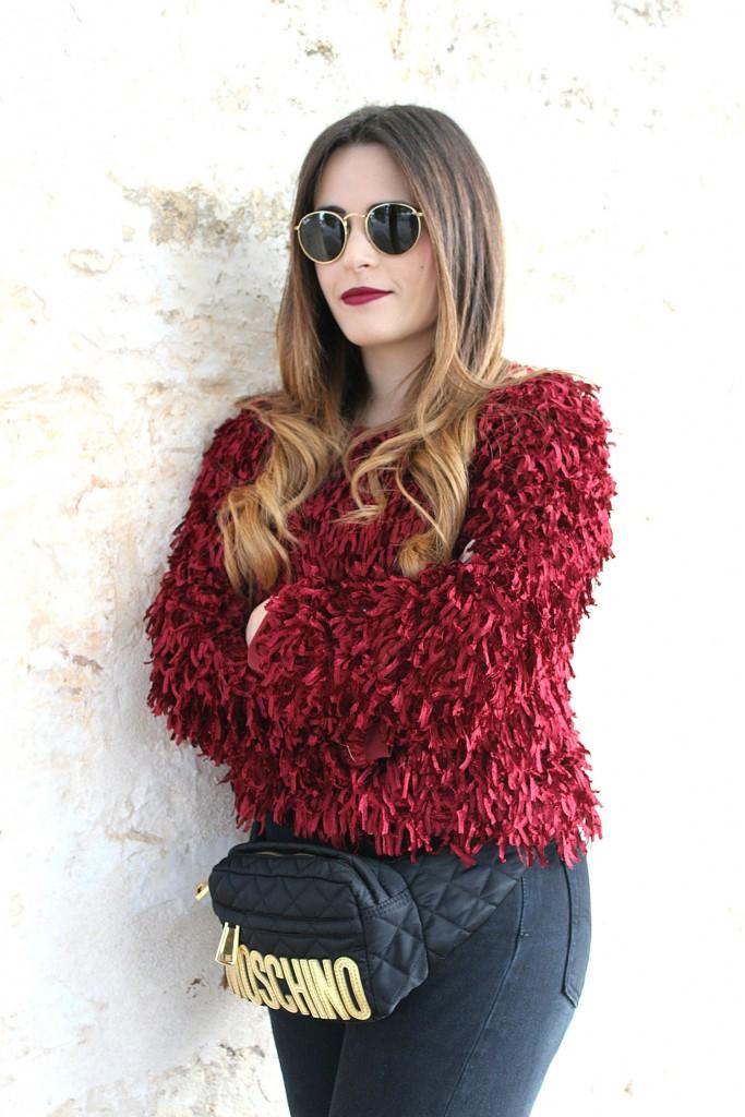 maglione peloso