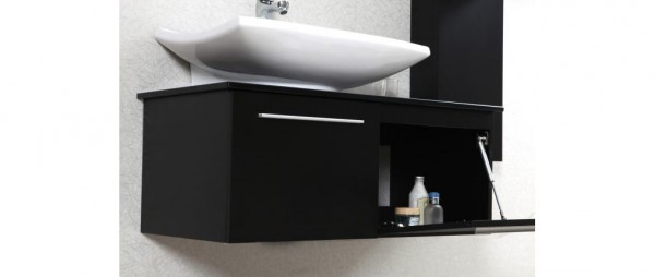 bagno nero opaco
