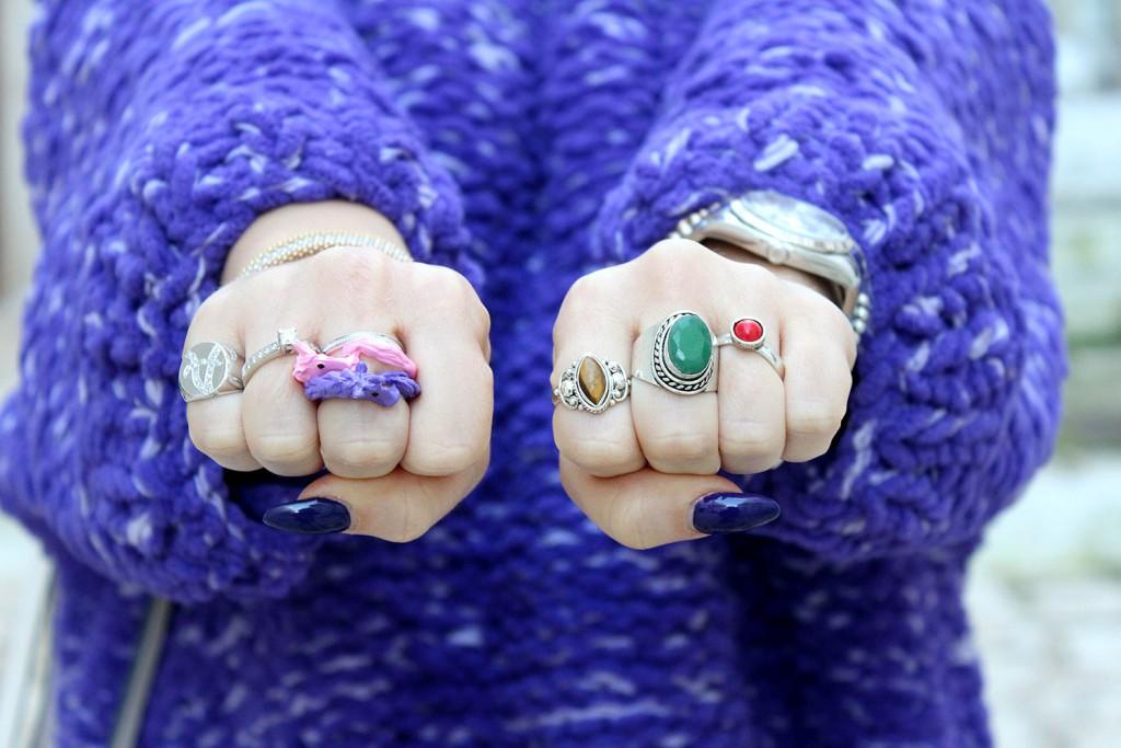 anelli colorati
