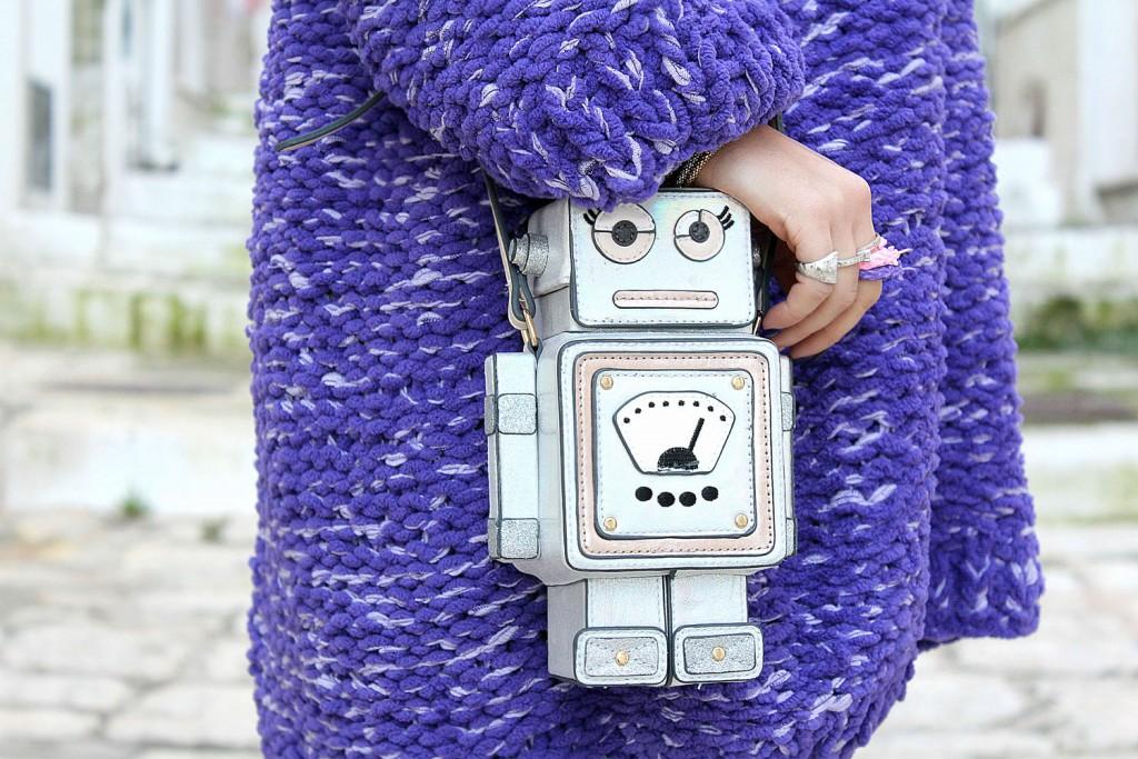borsa robot accessorize