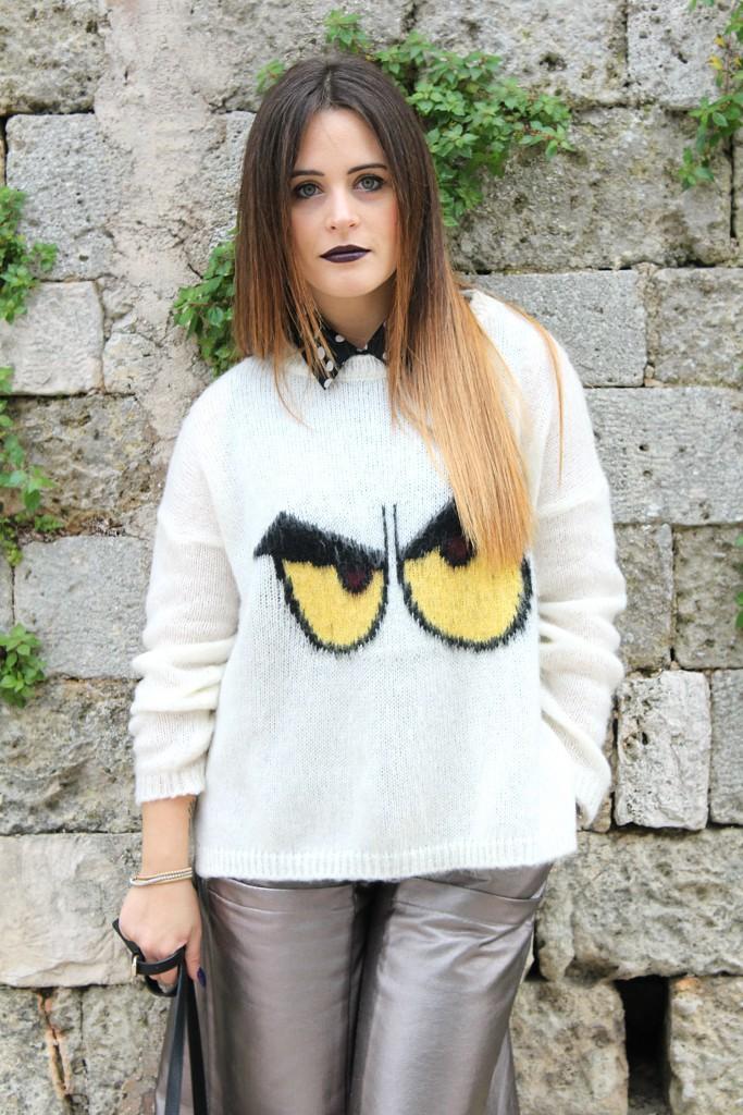 maglione colorato