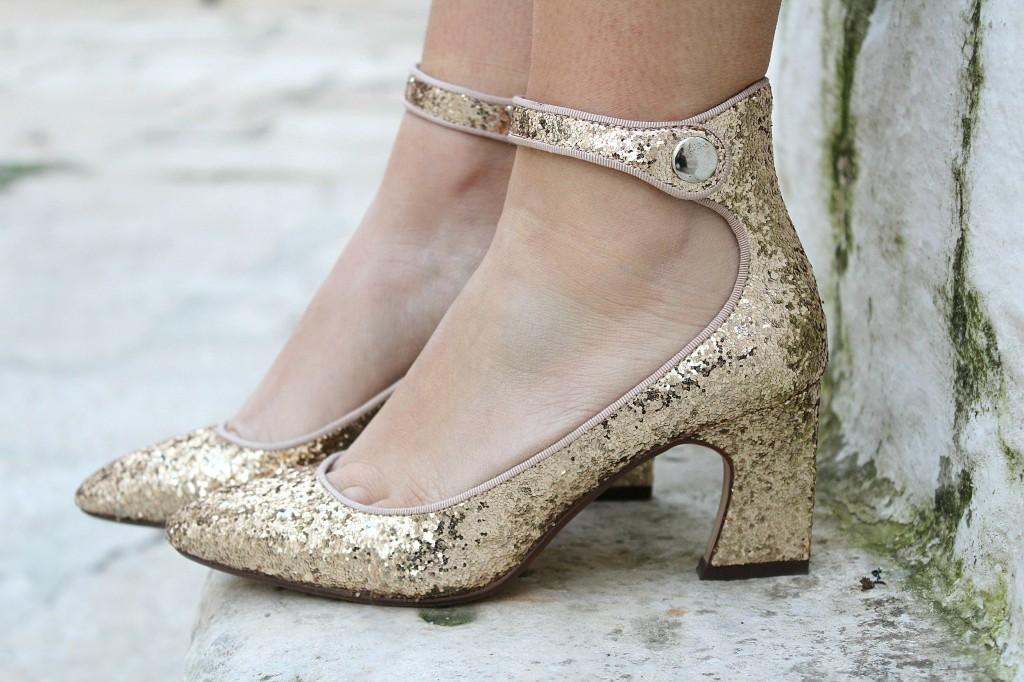 scarpe glitter