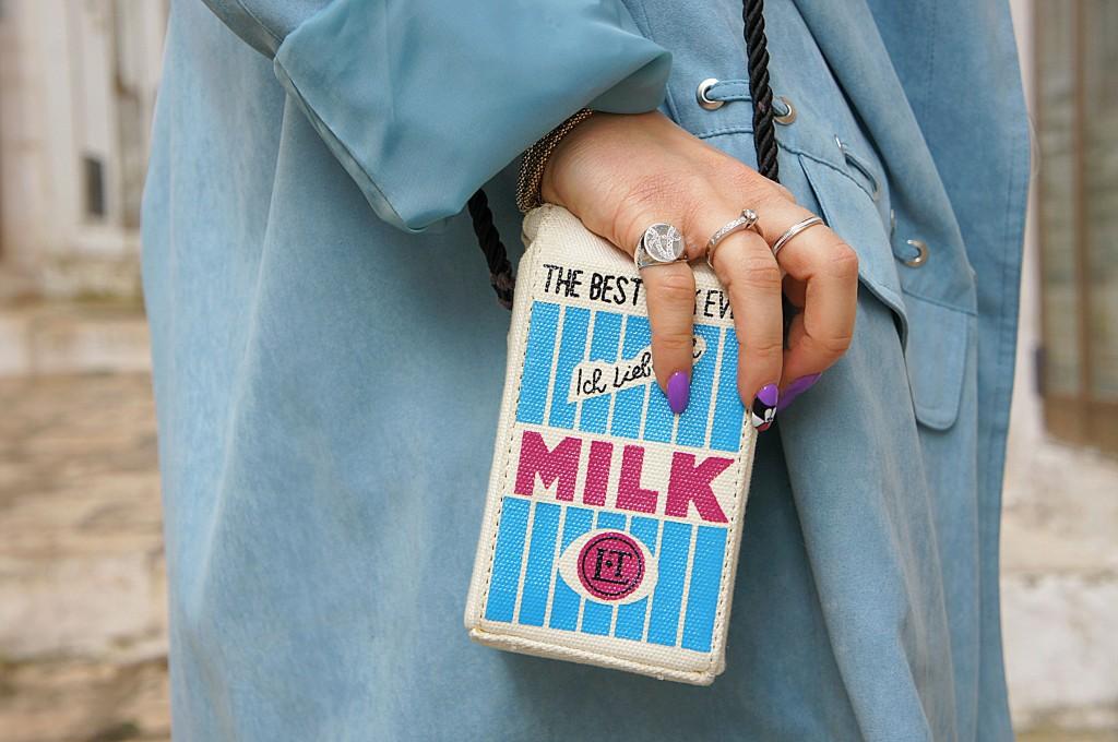 borsa cartone di latte