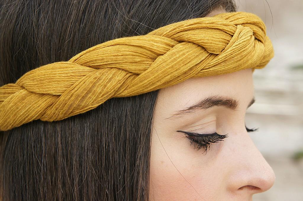 fascia treccia capelli