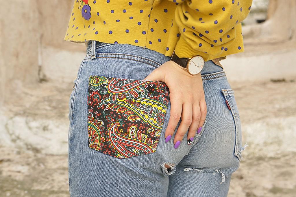 jeans levis personalizzati