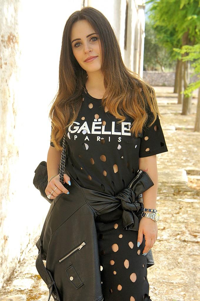 vestito bucato Gaelle Bonheur