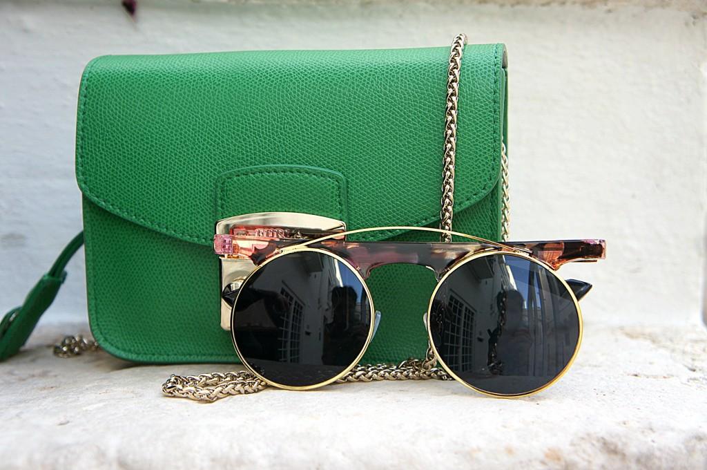 mini bags furla verde