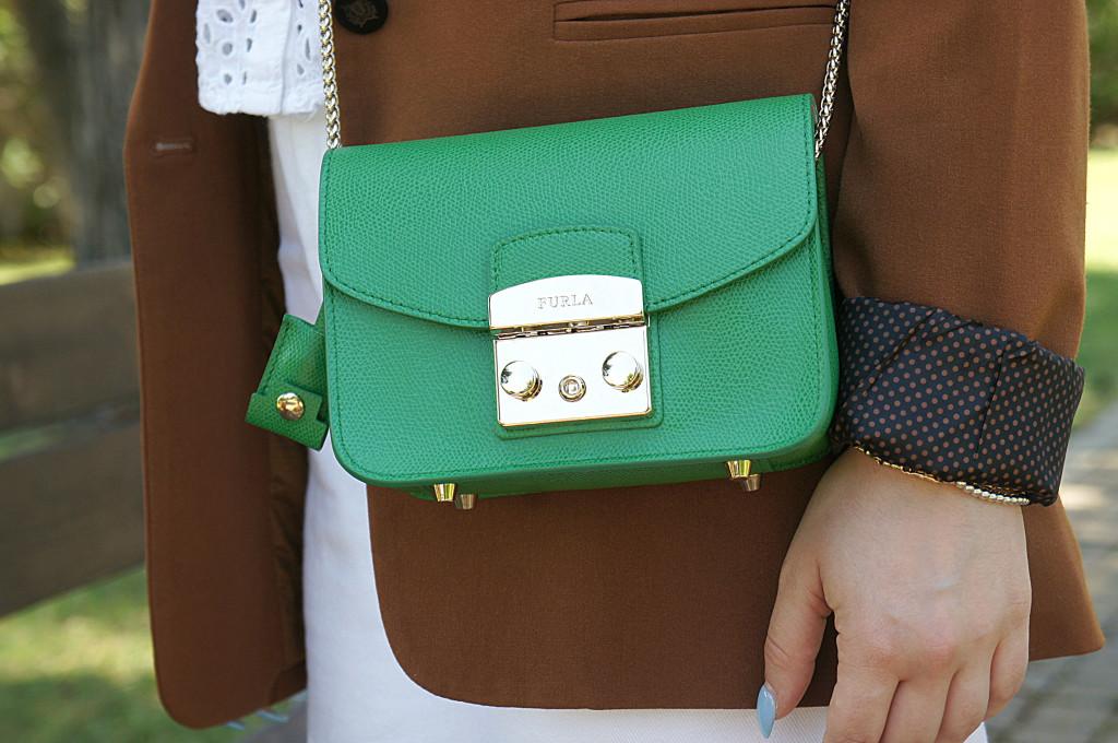 mini bag furla verde