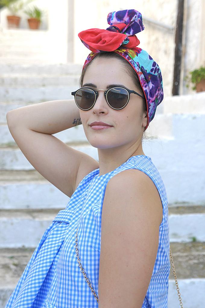 turbante colorato